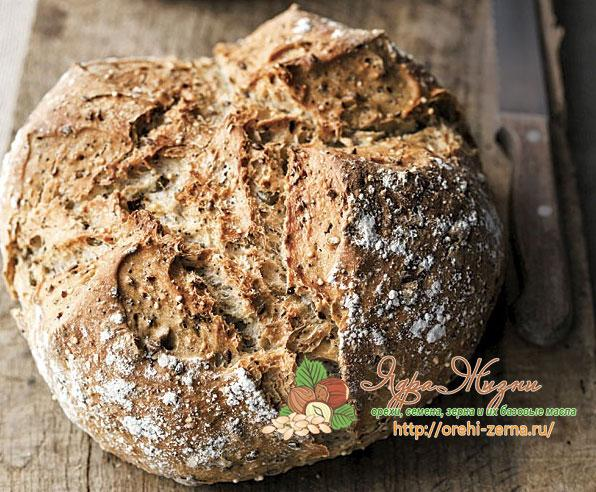 Мульти-витаминный хлеб рецепт
