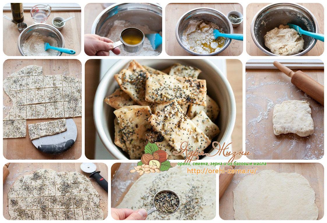 Как готовить крекеры в домашних условиях