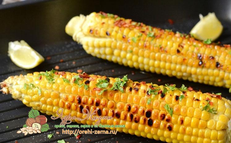 как пожарить кукурузу на сковороде