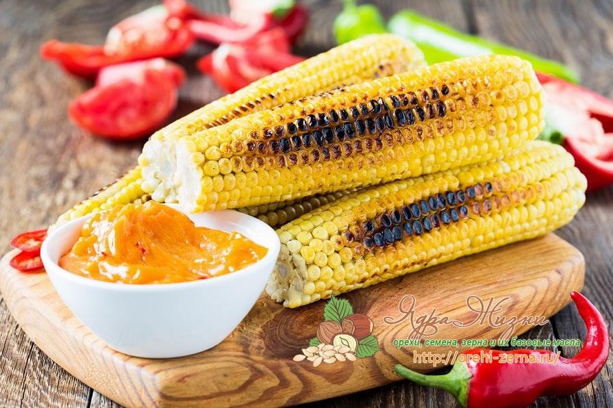 как жарить кукурузу
