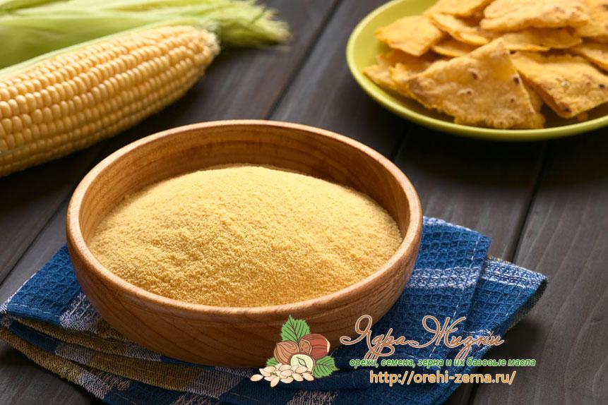Как сделать кукурузную муку в домашних условиях фото 933