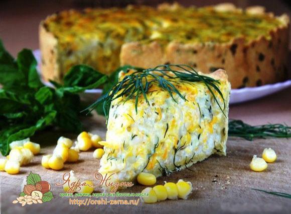 пирог с кукурузой