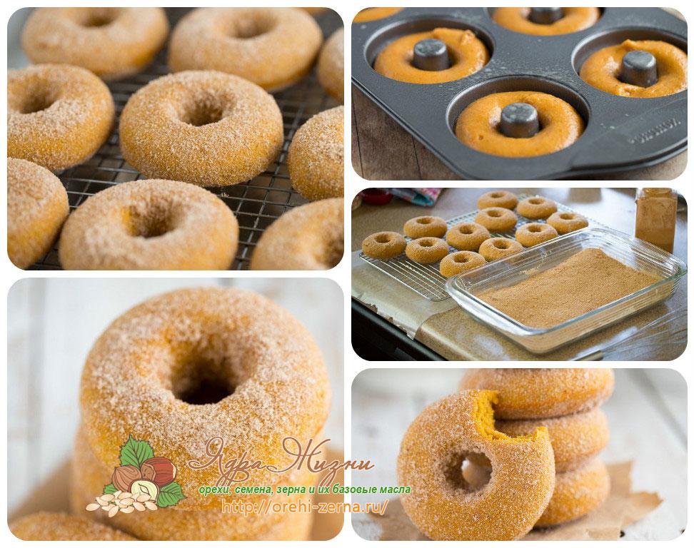 тыквенные пончики рецепт в домашних условиях
