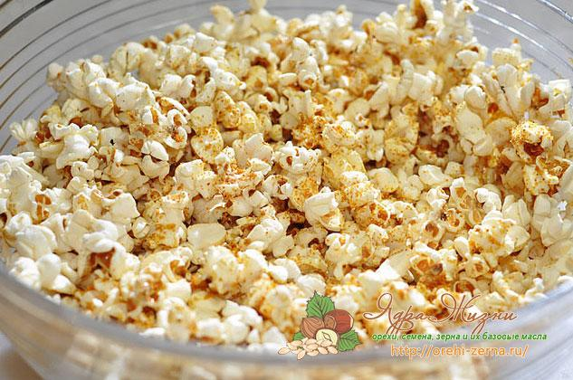 Фото: как сделать попкорн из кукурузы в домашних условиях