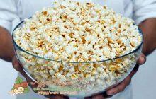 как сделать попкорн из кукурузы