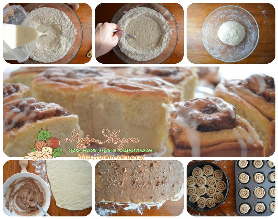 Как приготовить булочки-спиральки в домашних условиях