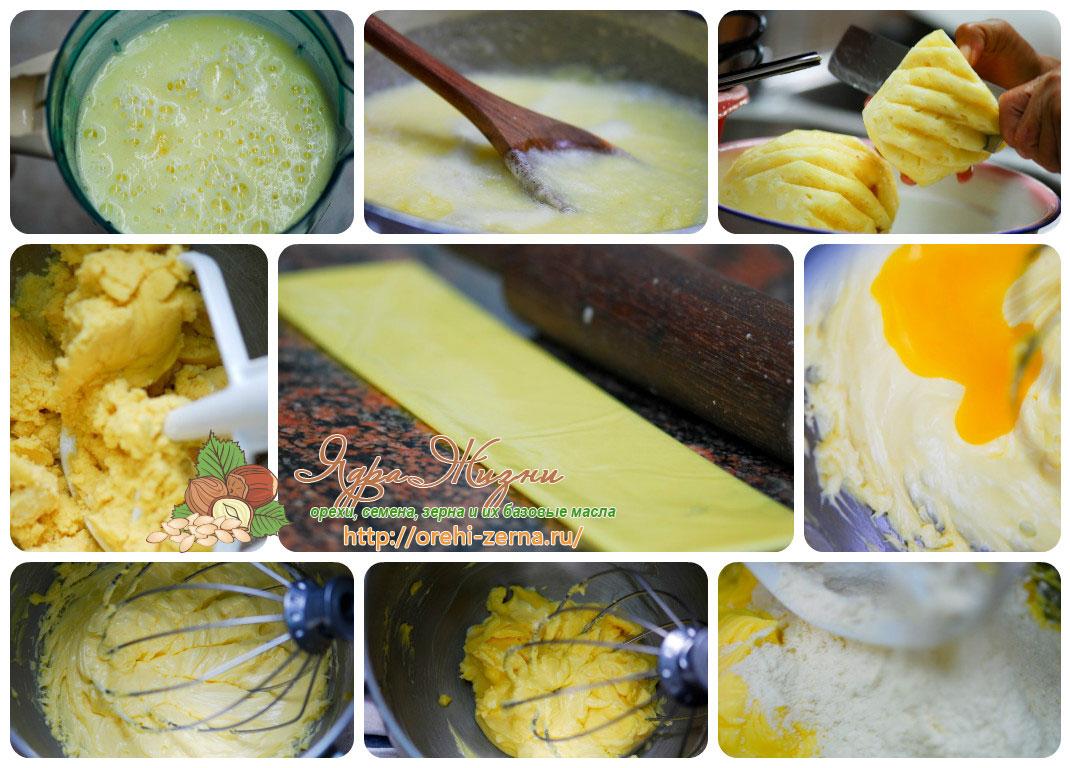 Фото: приготовление теста для мини тарт