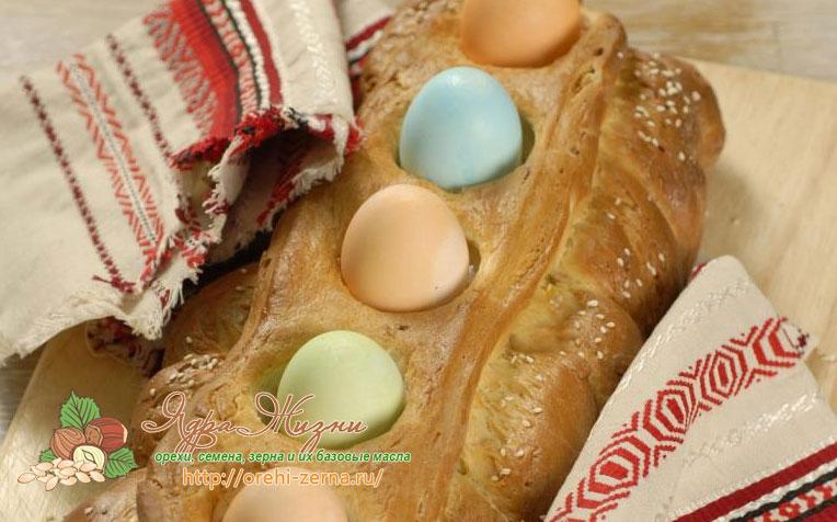 как испечь греческий пасхальный хлеб Цуреки