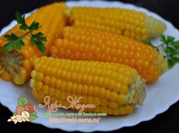 как приготовить кукурузу в духовке