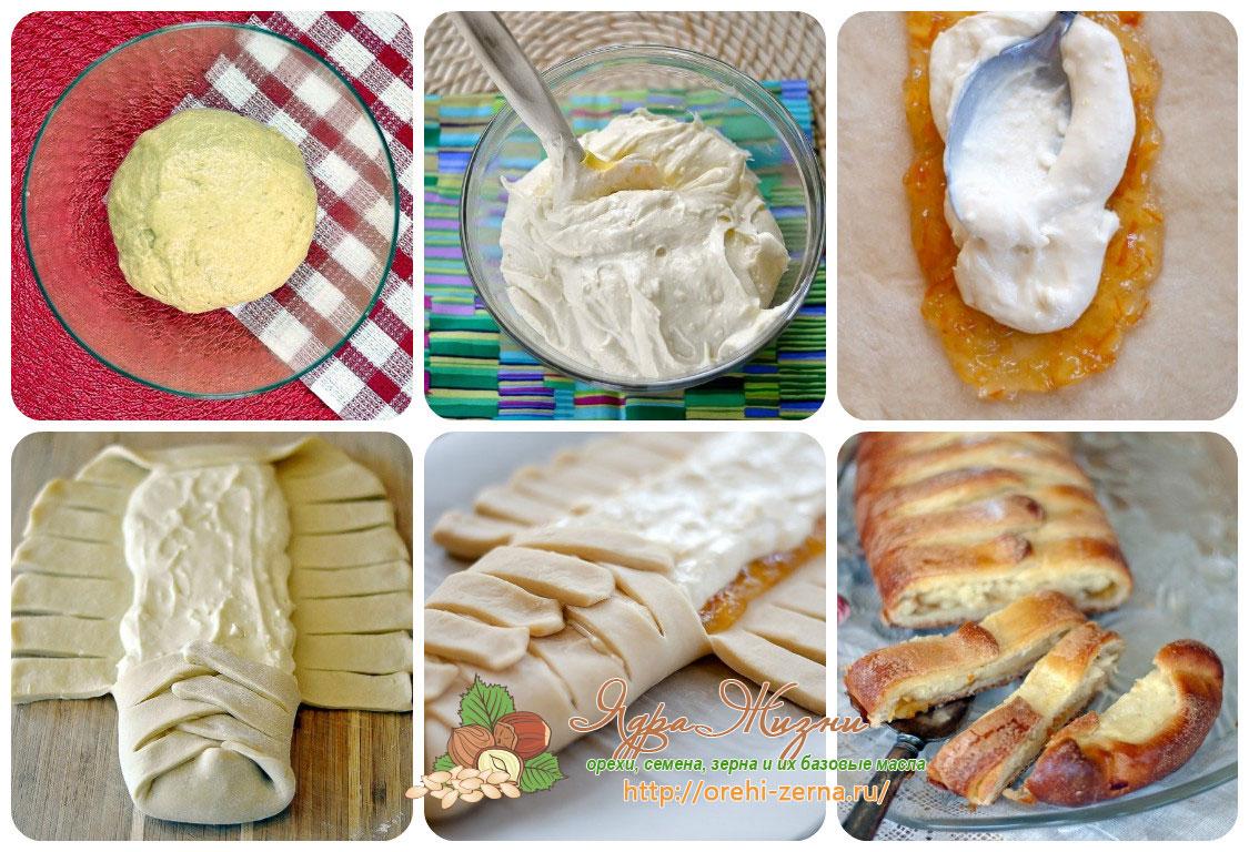 плетенки с джемом рецепты с фото
