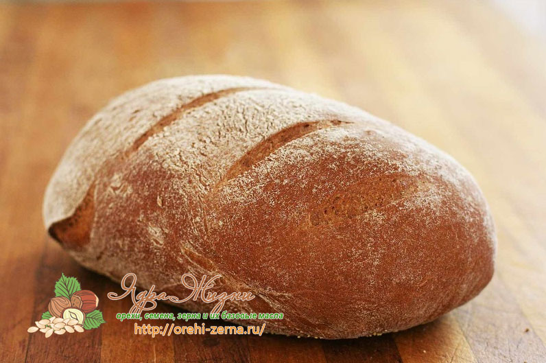 Ржаной хлеб домашних условиях рецепт