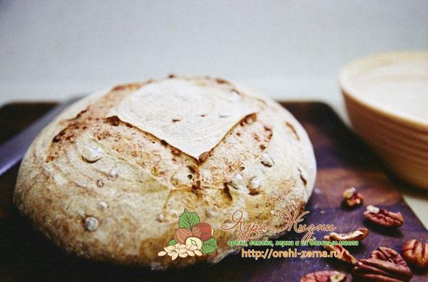ржаной хлеб с орехами пекан рецепт