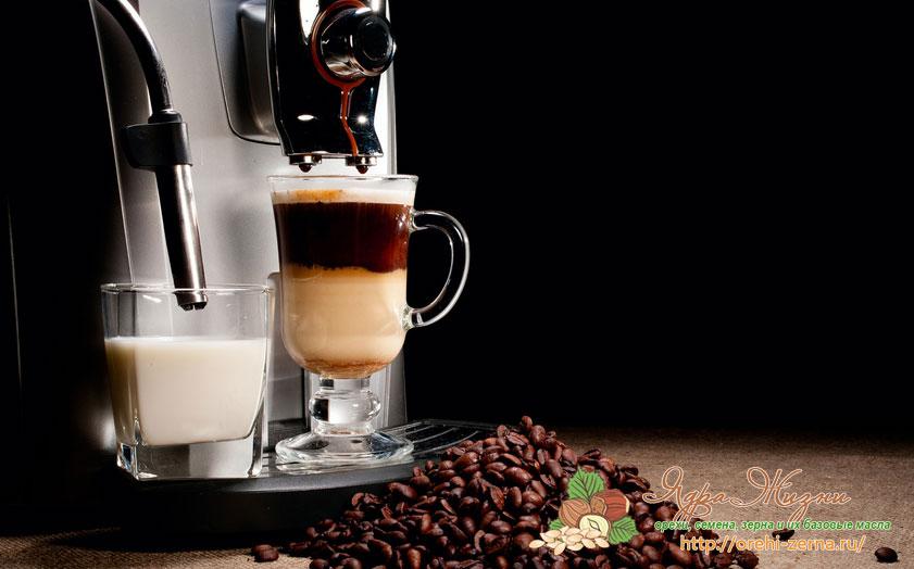 Зерна кофе для кофемашины - как выбрать