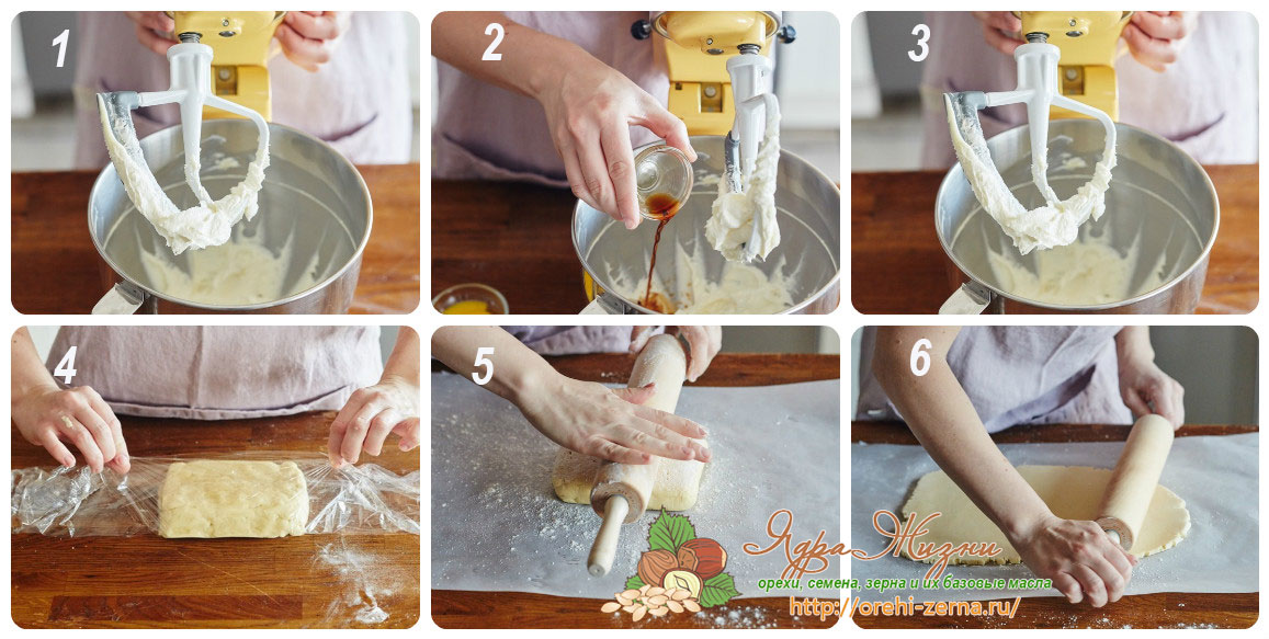 Приготовление теста для пирога с начинкой