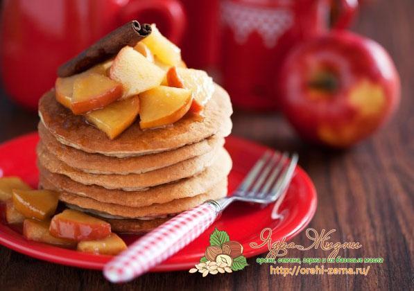 Рецепт яблочных панкейков