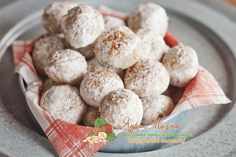 Ореховое печенье по-мексикански