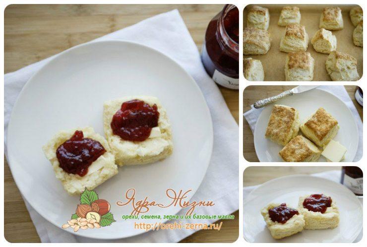 сливочно-слоеное печенье