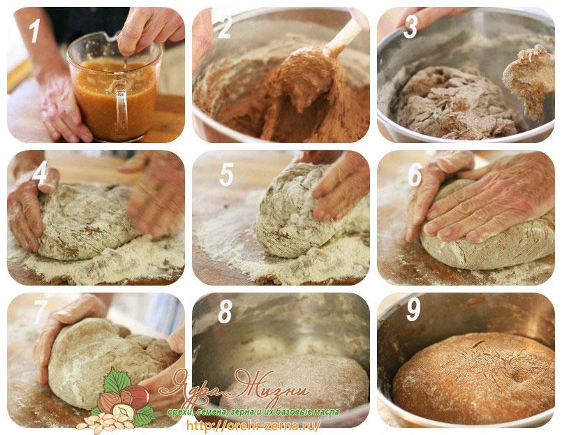 американский ржаной хлеб рецепт