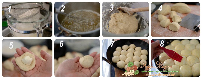 Приготовление арабских булочек