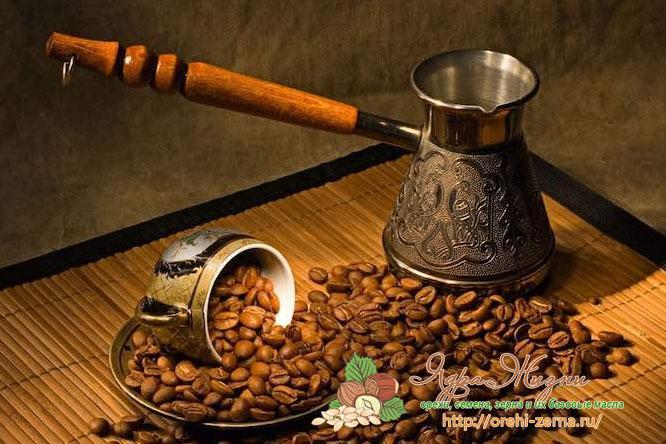как сварить кофе дома в турке