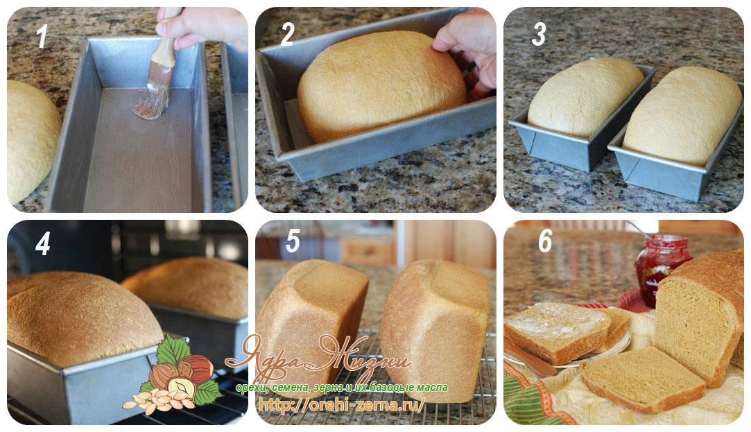 как испечь хлеб с полентой