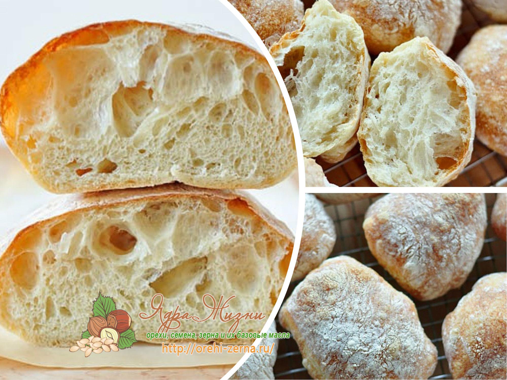 Рецепт чиабатты в домашних условиях в хлебопечке