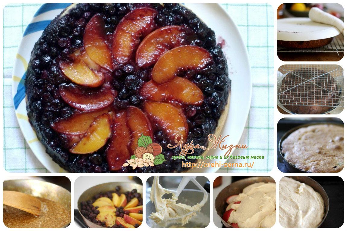 Фруктово-ягодный пирог рецепт