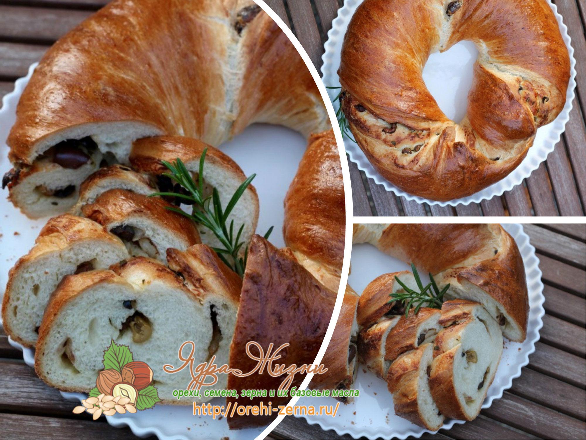 домашний хлеб с сыром