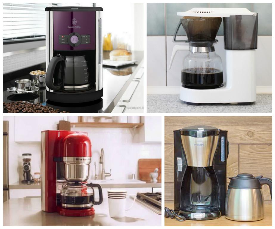 Капельная кофеварка: разные модели