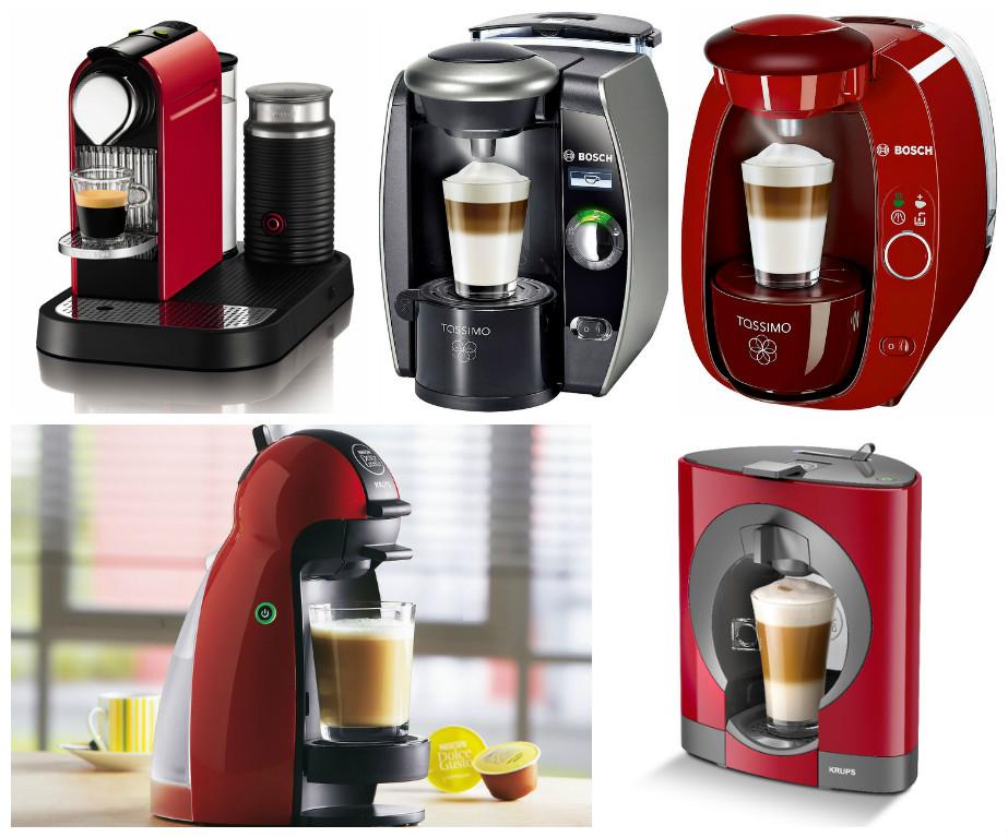 капсульные кофеварки: разновижности