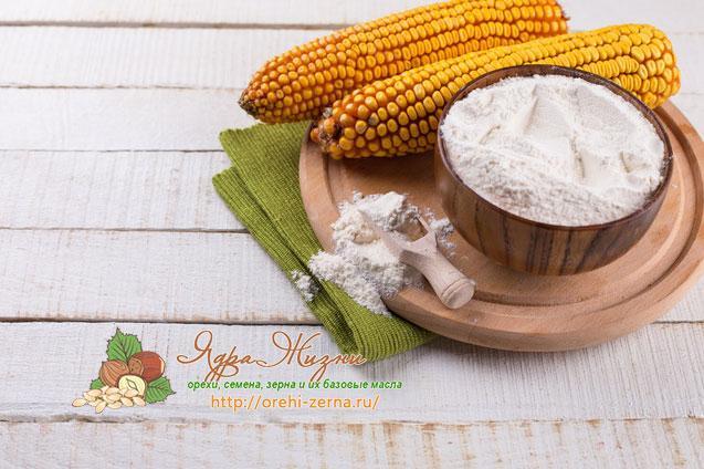Кукурузный крахмал в кулинарии