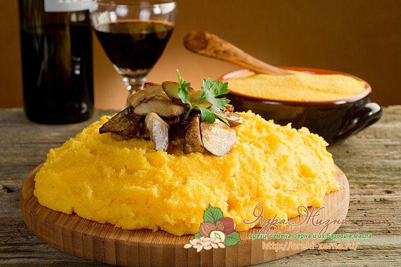 Молдавская мамалыга из кукурузной крупы