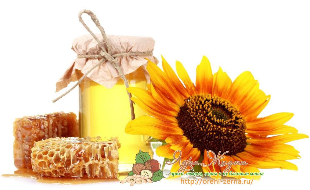 Подсолнечное масло с медом