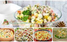 Салат оливье с кукурузой - варианты приготовления