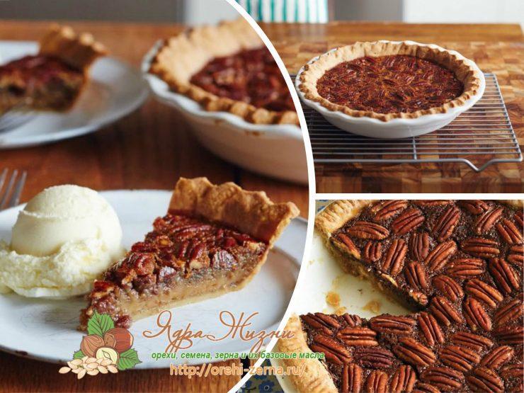 Американский пирог с орехами пекан - рецепт в домашних условиях