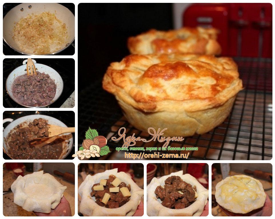 мини пироги с говядиной рецепт в домашних условиях