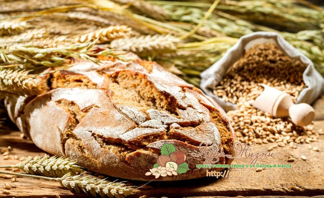 Черный ржаной хлеб и рожь польза и вред