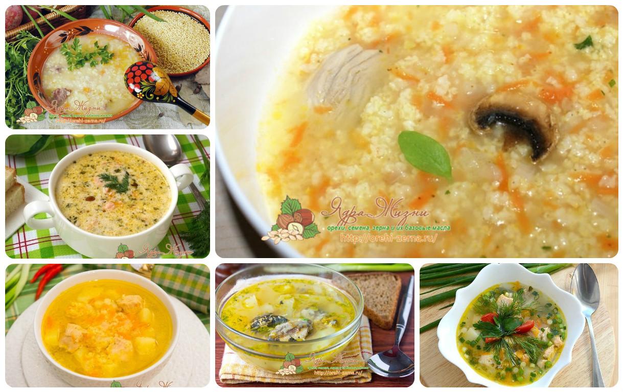Как сварить суп с пшеном