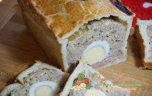 Мясной пирог со свининой