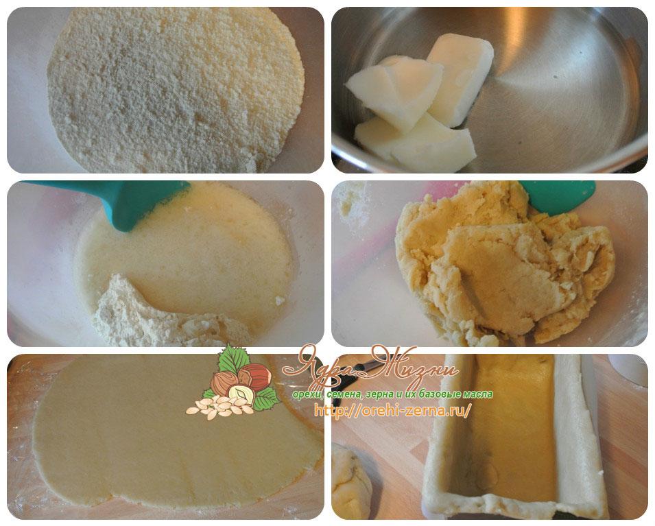 Приготовление теста для мясного пирога