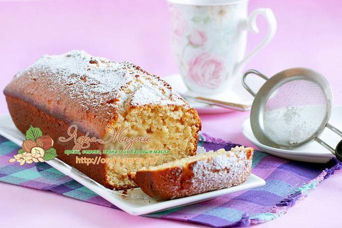 Арахисовый кекс рецепт