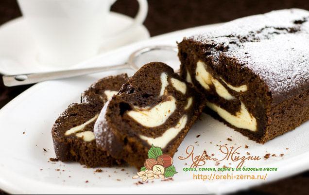 шоколадный пирог из фасолевой муки