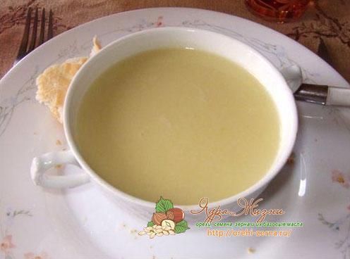 суп из фасолевой муки