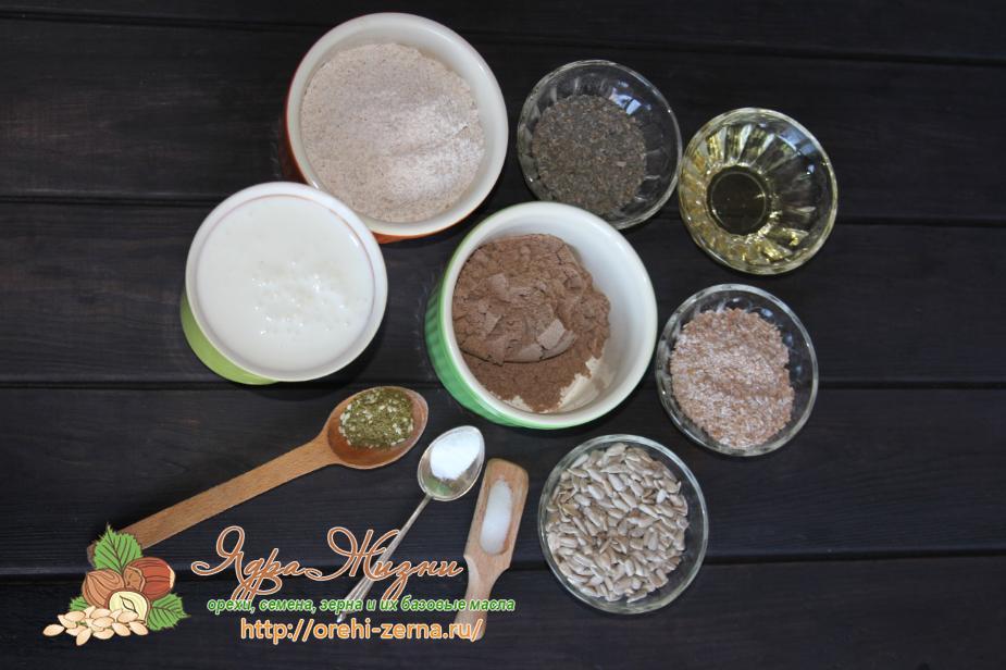 Как приготовить хлебцы из льняной муки