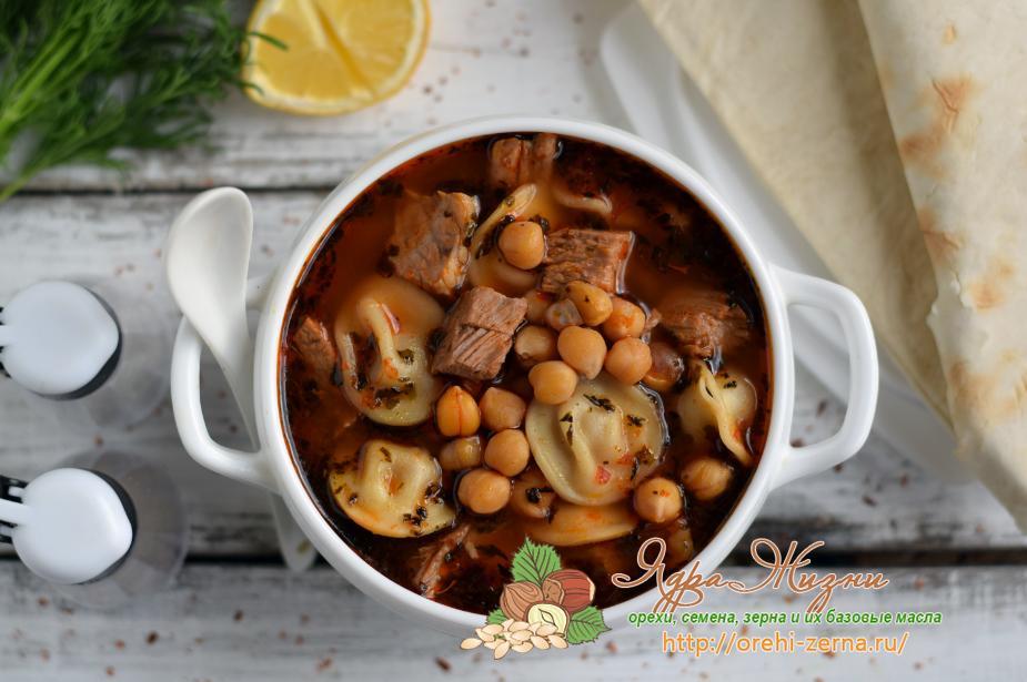 турецкий суп с нутом рецепт