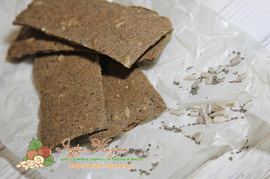 хлебцы из льняной муки