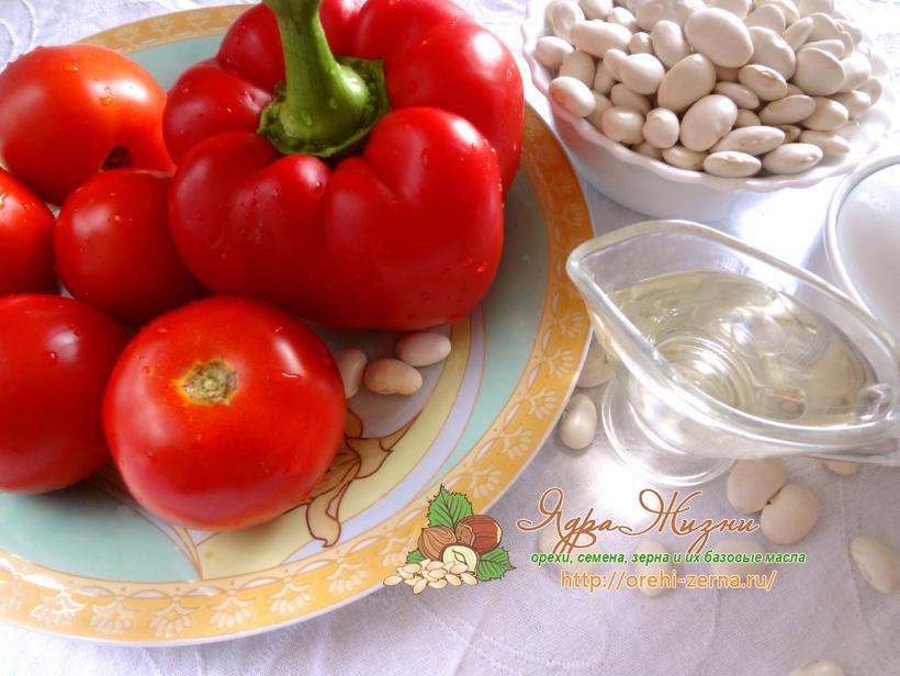 лечо с фасолью и сладким перцем рецепт на зиму