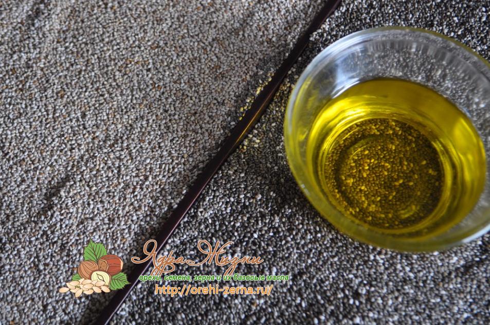 масло семян чиа