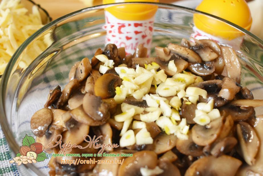 слойки с грибами рецепт