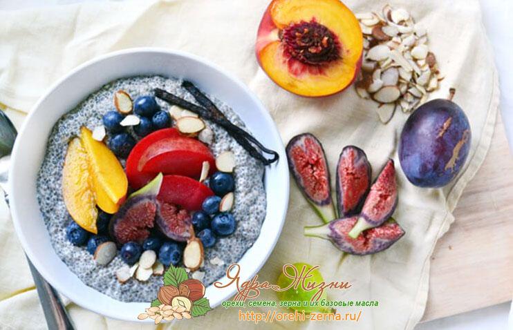 диета с семенами чиа
